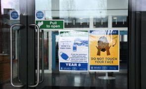Covid-19: Nível de alerta reduzido no Reino Unido