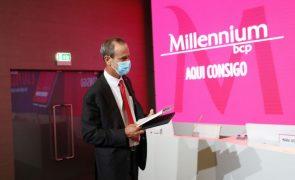 BCP diminui lucros em 39% para 183 milhões de euros em 2020