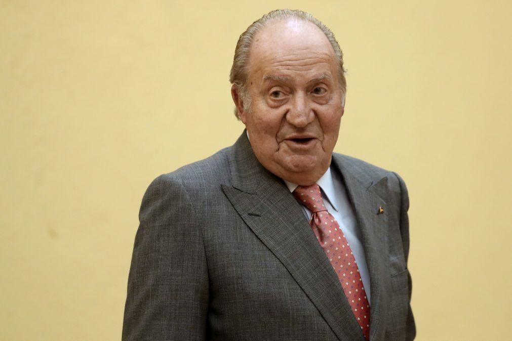 Rei emérito Juan Carlos I paga 4,4 milhões de euros ao fisco espanhol