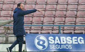 Ricardo Soares promete Gil Vicente a lutar pela vitória em Tondela