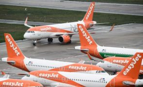 Covid-19: EasyJet defende testagem sem custos para passageiros em vez de proibir viagens