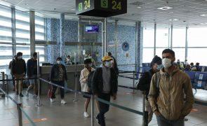 Covid-19: PSP impede 140 pessoas de viajar a partir de três aeroportos