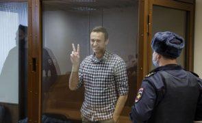 Navalny chega a colónia penal a leste de Moscovo