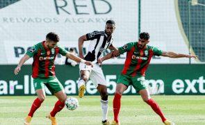 Marítimo interrompe série de seis derrotas com empate em Portimão