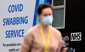 Covid-19: Reino Unido regista 140 mortes e 6.035 casos nas últimas 24 horas