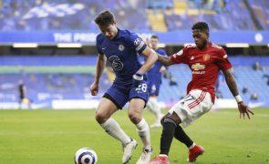 Manchester United empata e isola-se no segundo lugar da Liga inglesa