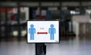 Covid-19: Novos casos de contágio em França descem abaixo dos 20.000