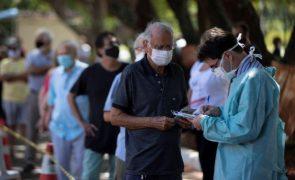 Covid-19: Brasil regista mais 721 mortes e 34.027 infetados