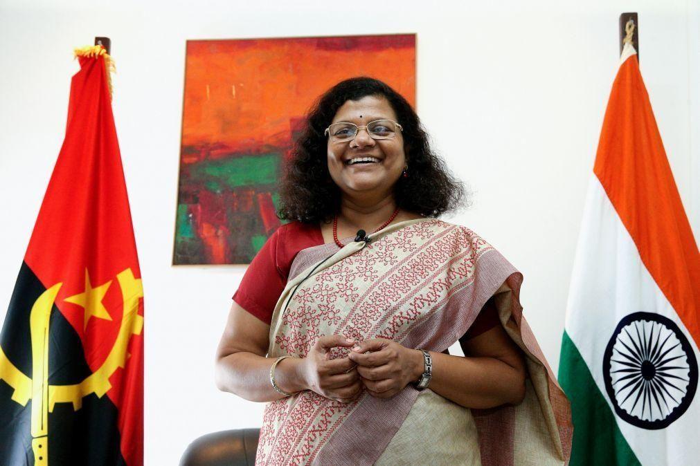 Índia disponível para apoiar Angola no acesso às vacinas para a covid-19