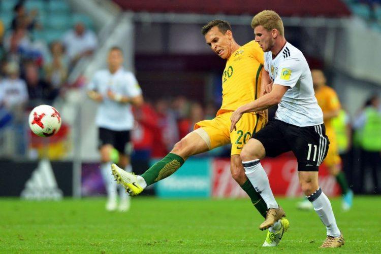 Campeã mundial Alemanha venceu Austrália por 3-2 na Taça das Confederações