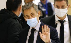 Ex-Presidente francês Nicolas Sarkozy vai recorrer da condenação