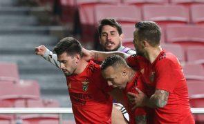 Benfica vence em Tondela e pressiona o FC Porto [veja os golos]
