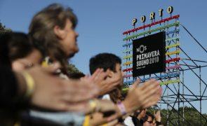 Covid-19: Festival Primavera Sound do Porto adiado para 2022
