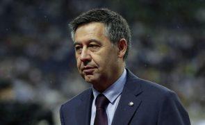 Ex-presidente do FC Barcelona sai em liberdade após audiência