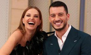 Ruben Rua mostra mais do que devia e leva raspanete de Cristina Ferreira