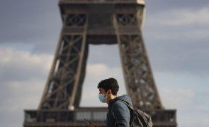 Covid-19: França regista 301 mortos desde 2.ª feira e prevê