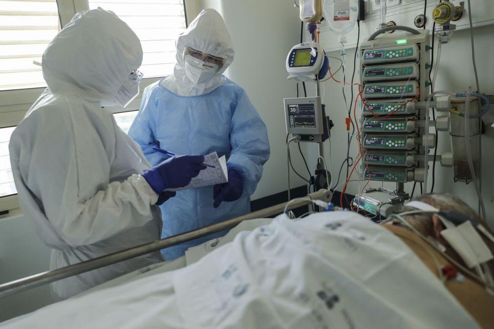 Covid-19: Centro Hospitalar Lisboa Central recebeu há um ano o primeiro dos 3.316 doentes tratados