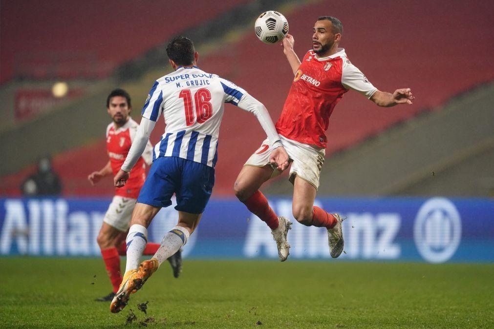 FC Porto e SC Braga decidem primeira vaga na final da Taça de Portugal