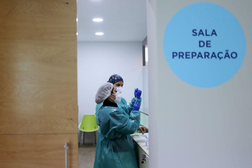 Centros de vacinação devem ter capacidade para vacinar cerca de 50 pessoas por hora