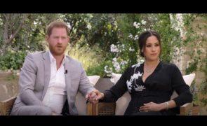 Príncipe Harry usa roupa importante em entrevista a Oprah Winfrey