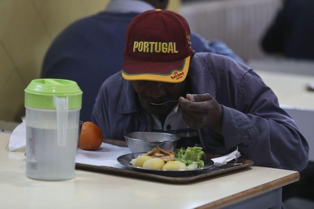 O risco de pobreza afeta 17,2% dos portugueses, mas disparava sem apoios sociais