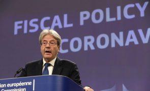 Covid-19: É claro que economia europeia ainda necessitará de apoios em 2022 -- Gentiloni