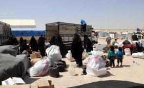 Síria: 31 mortos desde o início do ano no campo de refugiados de Al-Hol