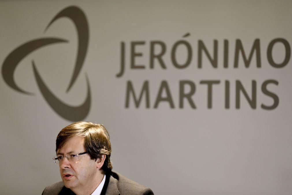 Administração da Jerónimo Martins propõe pagamento de dividendo de 0,288 euros por ação