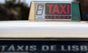 Covid-19: Taxistas com quebra de serviços na ordem dos 70%