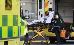 Covid-19: Reino Unido regista 315 mortes nas últimas 24 horas