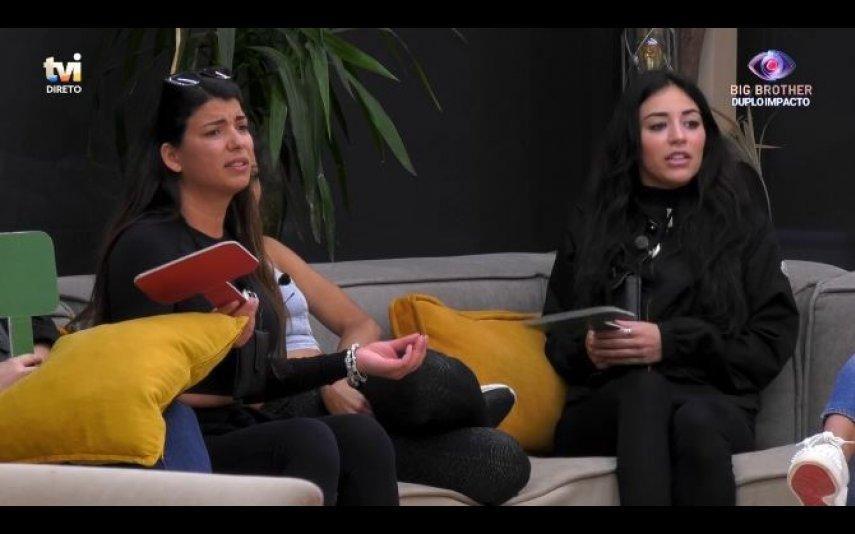 Big Brother. Jéssica e Sofia discutem: «Vês maldade em tudo»