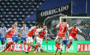 Sporting de Braga vence FC Porto e está na final da Taça [veja: resumo alargado e golos]