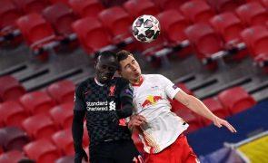 Liga dos Campeões. Jogo entre Liverpool e Leipzig disputa-se de novo em Budapeste