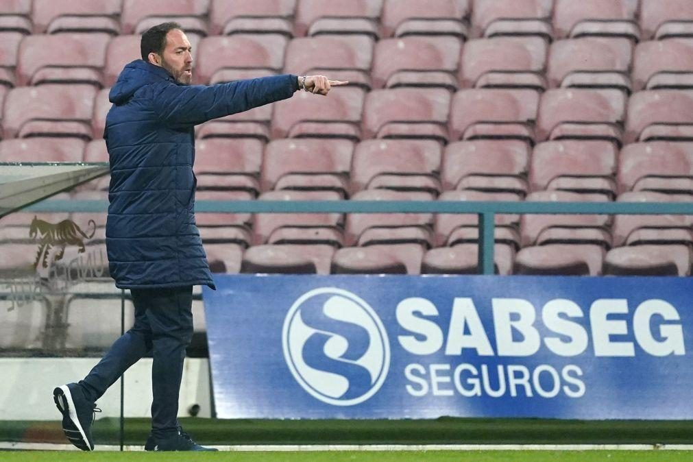 Ricardo Soares diz que o Gil Vicente quer pontuar na