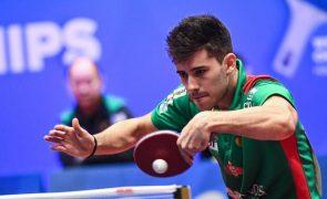 João Geraldo eliminado nos oitavos de final do WTT Contender de ténis de mesa