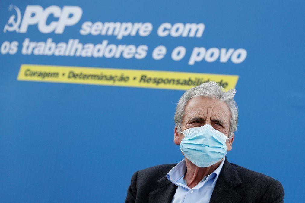 PCP afasta aliança de esquerda em Lisboa e admite repetir João Ferreira