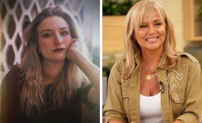 Alexandra Lencastre recebe mensagem de apoio da filha