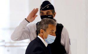 Procurador financeiro vai apelar judicialmente após condenação de Sarkozy