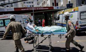 Covid-19: Mais 75.102 casos e 1.699 mortes no Brasil num dos piores dias da pandemia