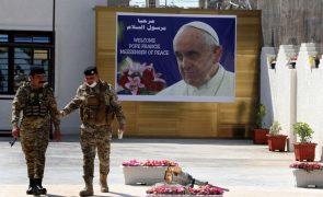 Papa inicia hoje visita ao Iraque como