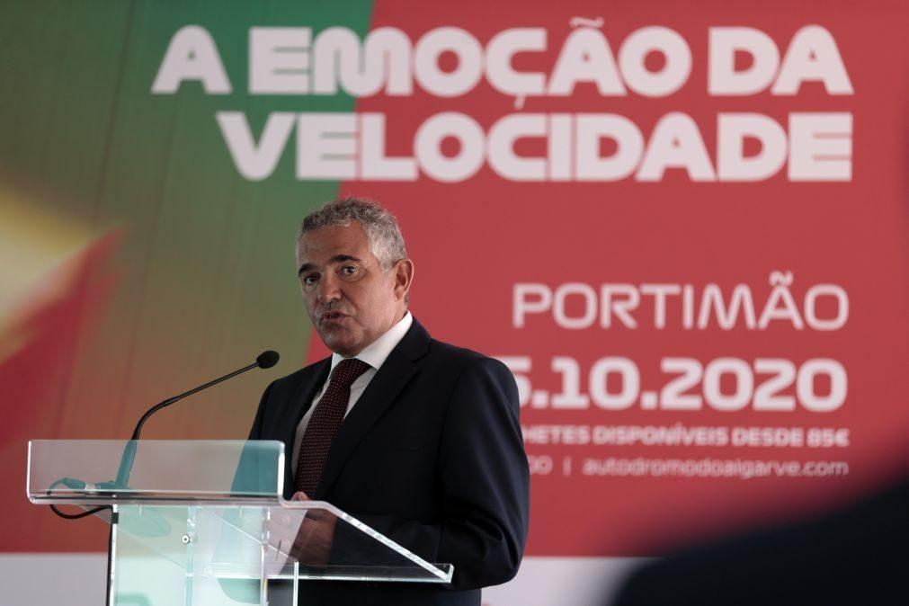 Ni Amorim acredita que GP de Portugal de Fórmula 1 pode manter-se por mais anos
