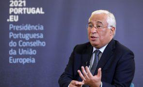 UE/Presidência: Costa assina em Bruxelas declaração que lança Conferência sobre Futuro da Europa