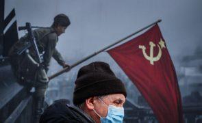 Covid-19: Cerca de 29.000 mortos na Rússia em janeiro