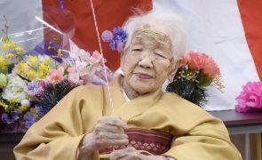 Mulher mais velha do mundo vai transportar tocha olímpica de Tóquio2020