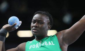 Auriol Dongmo campeã do lançamento do peso nos Europeus de Atletismo