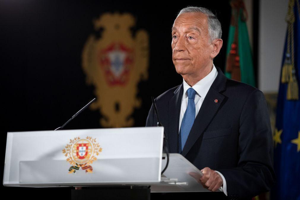 Marcelo estende programa da posse ao Porto com cerimónia ecuménica