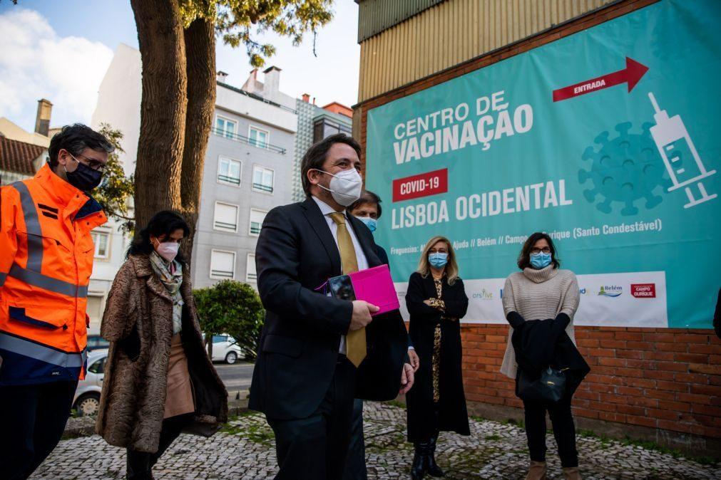 Covid-19: Portugal já administrou um milhão de vacinas
