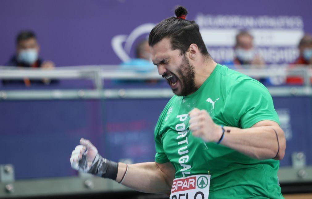 Atletismo/Europeus: Francisco Belo quarto no peso com recorde nacional