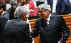 PCP/100 anos: Ferro Rodrigues saúda partido, secretário-geral e líder parlamentar