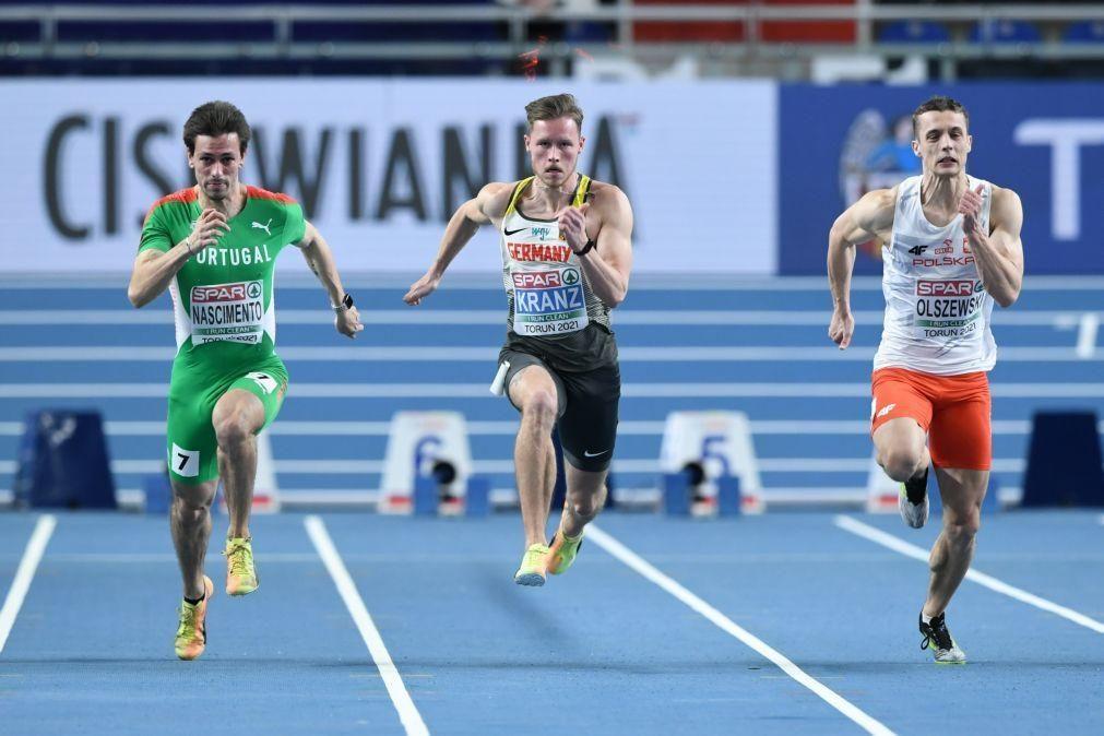 Carlos Nascimento em quinto na final dos 60 metros nos Europeus de atletismo